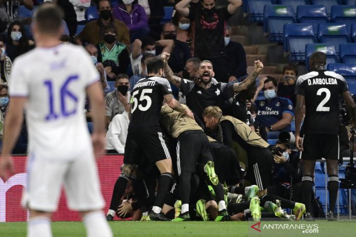 Real Madrid dipermalukan Sheriff  di Santiago Bernabeu