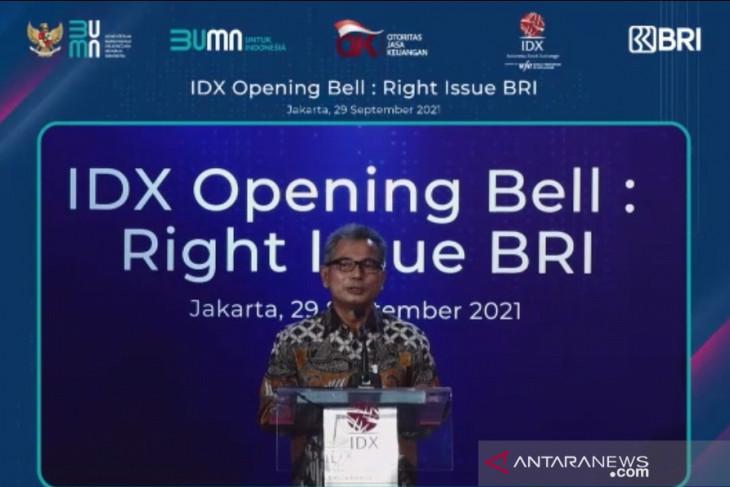 Rp29 triliun right issue BBRI berasal dari