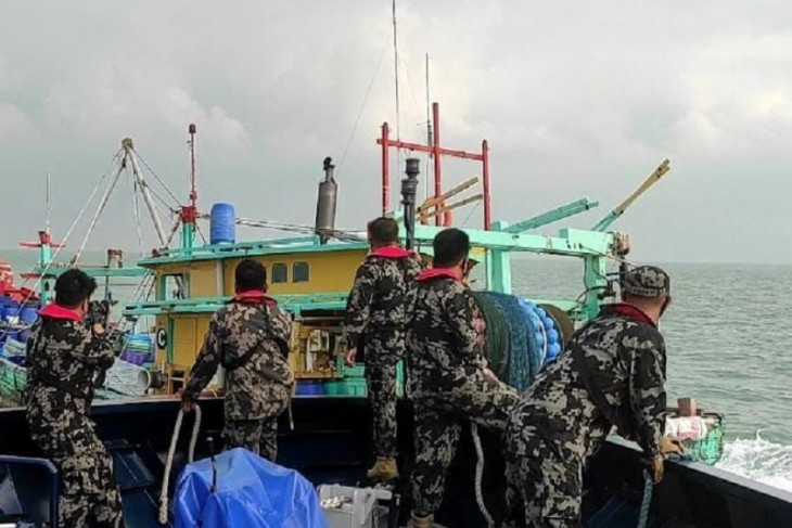 Malaysian-flagged boat seized over illegal fishing at Malacca Strait