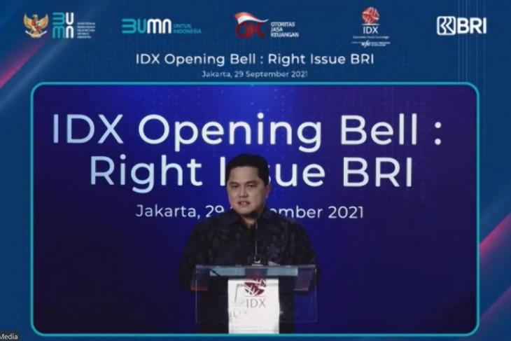 Rights issue BRI jadi bukti Indonesia punya market besar