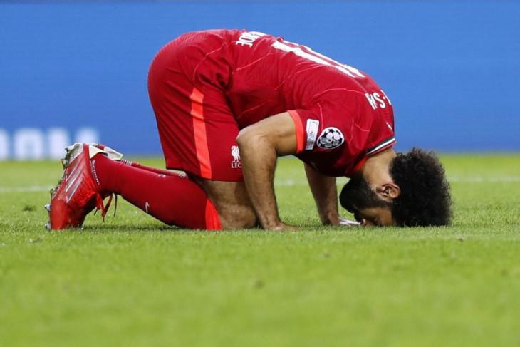 Salah cetak dua gol saat Liverpool pesta lima gol di kandang Porto