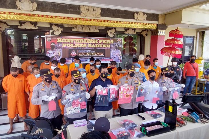 Polres Badung sita paket sabu dari oknum ASN Bali