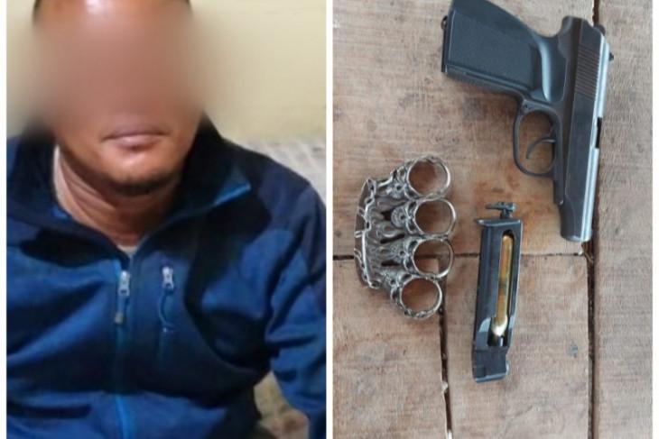 Polres Binjai amankan pelaku pengancaman dengan senjata airsoft gun