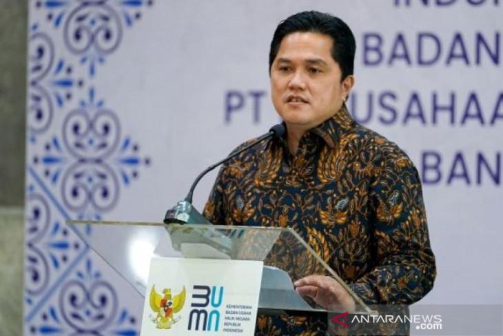 Erick berharap Perpres merger Pelindo disahkan pada 1 Oktober