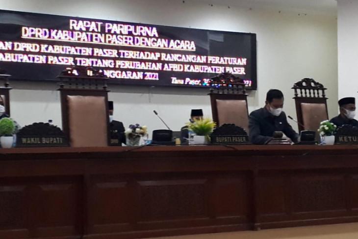 DPRD Paser setujui APBD-P 2021 sebesar Rp2,6 Triliun