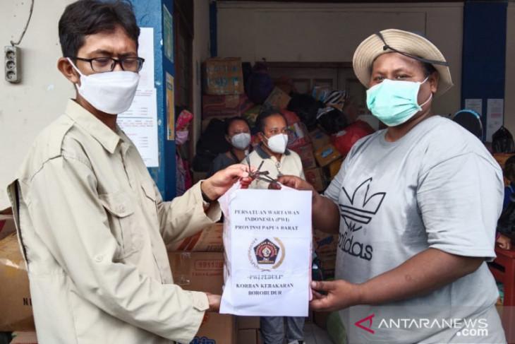PWI Papua Barat berdonasi untuk korban kebakaran Manokwari