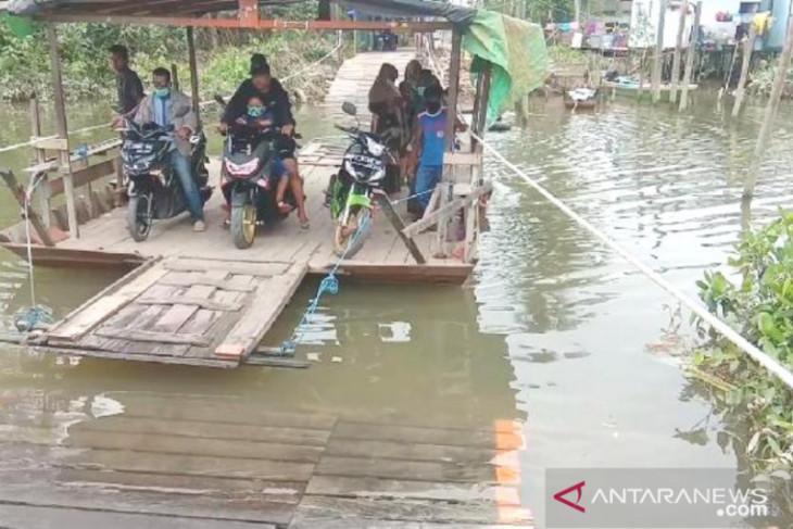 Pembangunan Jembatan Anggana-Kutai Lama dialokasikan Rp11 miliar