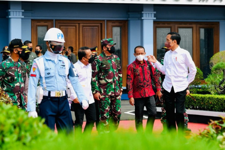 Presiden Jokowi bertolak ke Papua untuk membuka PON XX