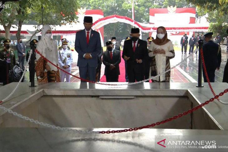 Presiden Jokowi jadi Inspektur Upacara Hari Kesaktian Pancasila