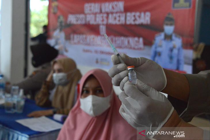 74 ribu warga Aceh Tamiang sudah divaksin COVID-19