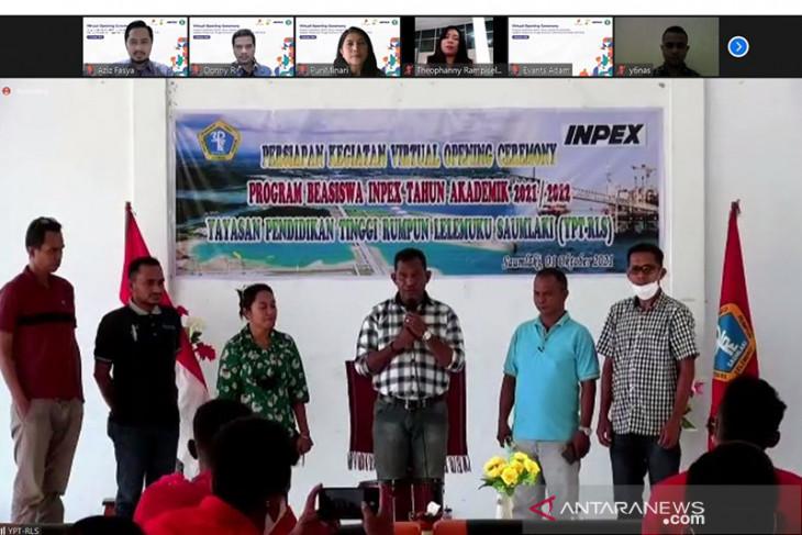 53 Mahasiswa dan Dosen YPT-RLS terima Bantuan Beasiswa INPEX
