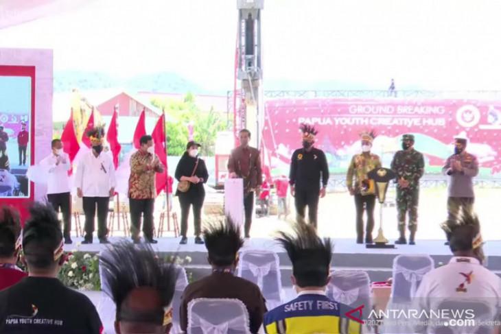 Papua Youth Creative Hub to develop Papuan talent pool: Jokowi