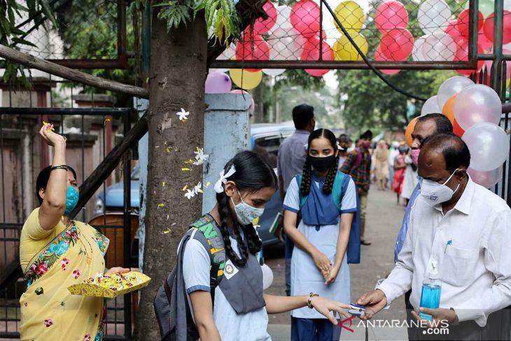 Kasus COVID-19 di India capai 34 juta
