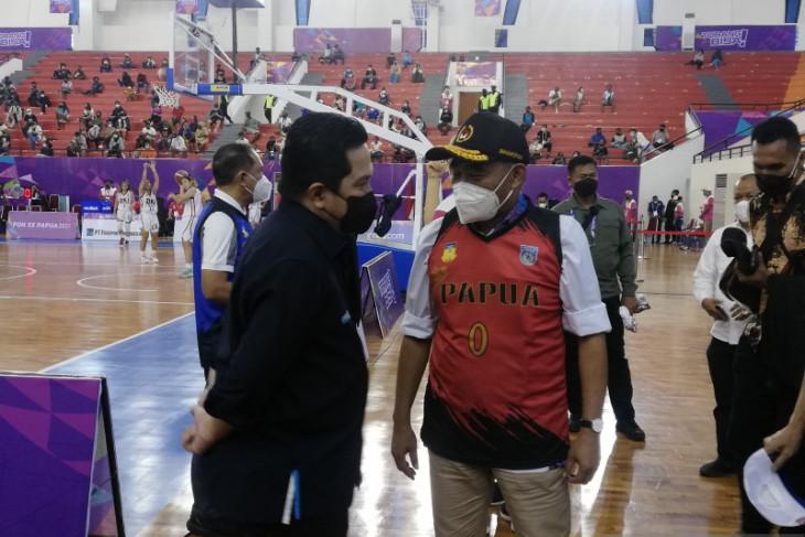 Menteri BUMN maksimalkan peran BUMN bantu kembangkan olahraga