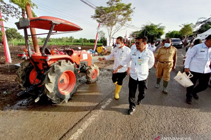 Mentan dorong peningkatan produktivitas pertanian Provinsi Papua Barat