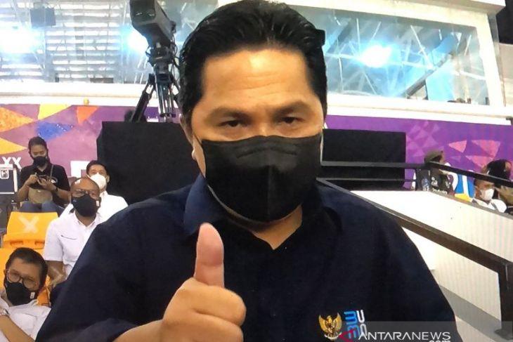 Menteri BUMN puji PT Timah dukung kontigen Babel di PON XX