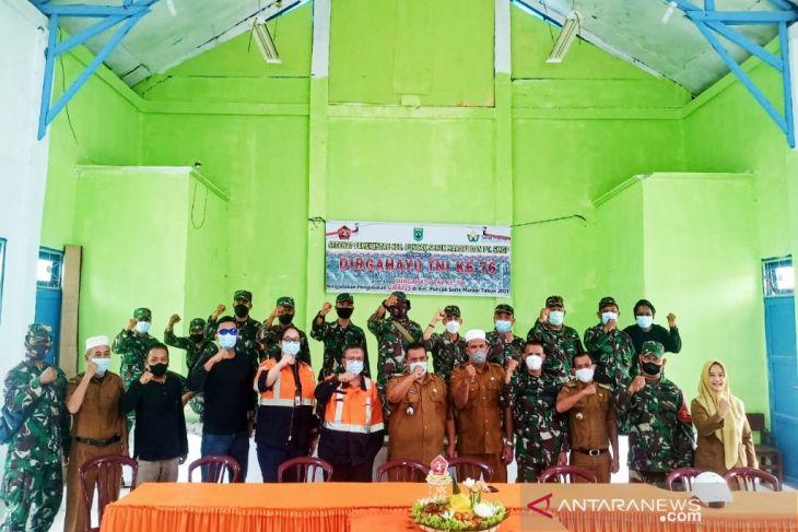 SMGP bersama Kecamatan Puncak Sorik Marapi  rayakan HUT TNI ke-75