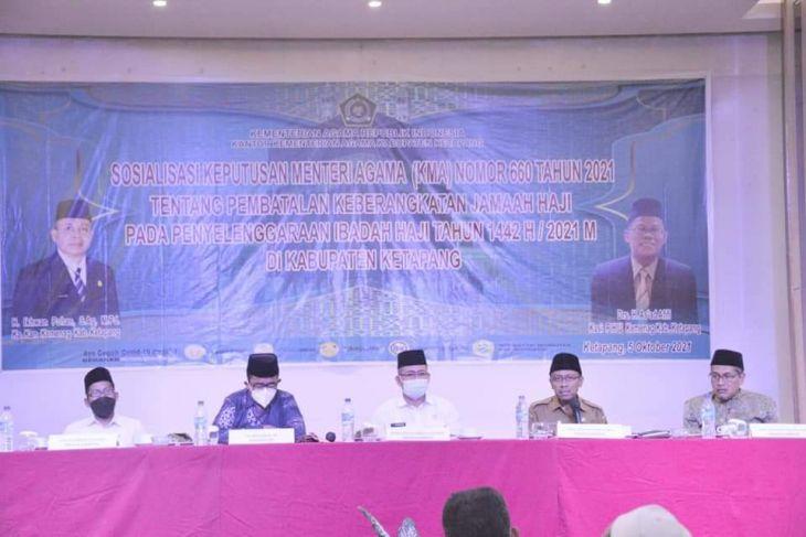 Pemkab Ketapang sampaikan pembatalan keberangkatan Jamaah Haji
