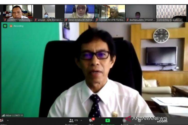 Sekretaris LLDIKTI XI : PT wajib fasilitasi mahasiswa improvisasi program merdeka belajar