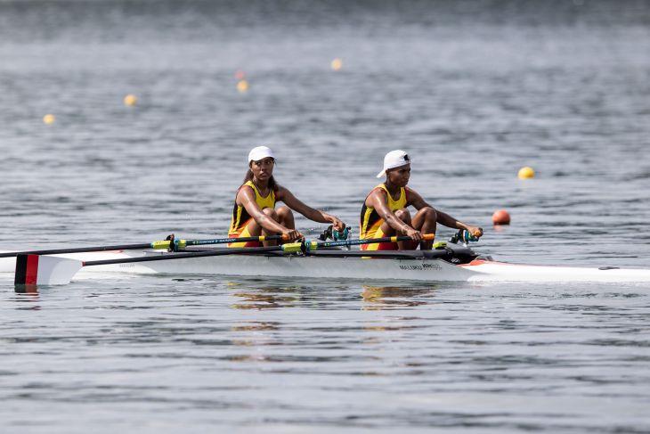 Akhirnya Maluku sabet dua medali emas sekaligus dari dayung PON Papua