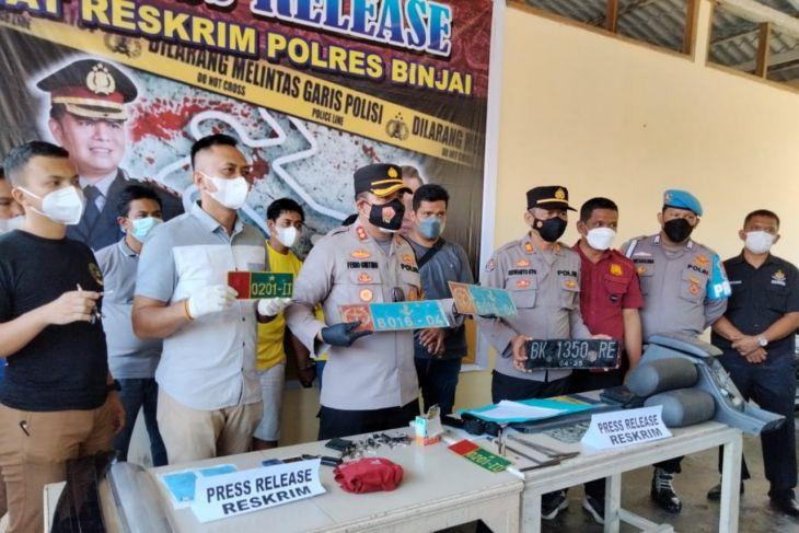 Kapolres Binjai beberkan penangkapan pencuri mobil antar daerah