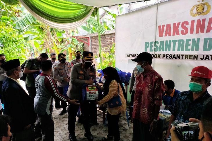 Polresta Sidoarjo gencarkan vaksinasi hingga pelosok desa