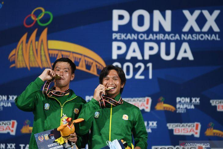 Papua PON: Rungkat-Susanto win gold in men's tennis double