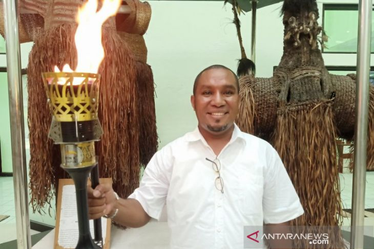 PON XX Games torch exemplifies Papua-West Java unity