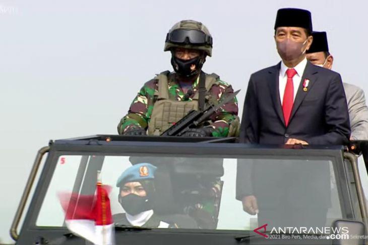 Presiden tetapkan 3.103 prajurit komponen cadangan TNI