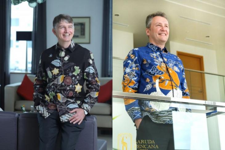 Scintillating amalgamation of batik motifs with global icons