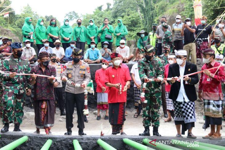 Kodam Udayana bangun Pompa Hydrant di Tabanan untuk atasi kekeringan