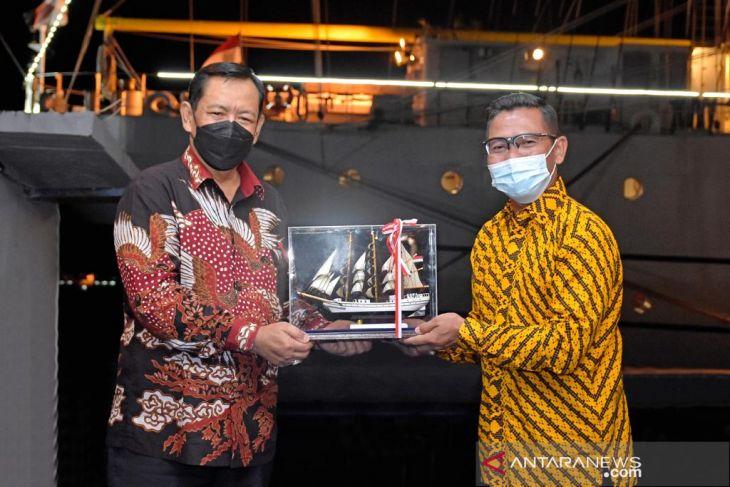 Wakil Wali Kota Sabang hadiri malam pagelaran seni KRI Bima Suci