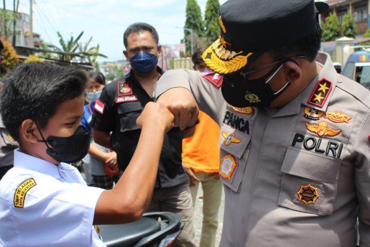 Kapolda Sumut targetkan  5.000 vaksinasi di Pematang Siantar