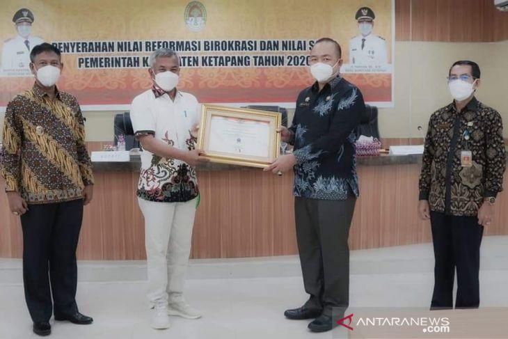 Ketapang terima empat penghargaan reformasi birokrasi-sakip