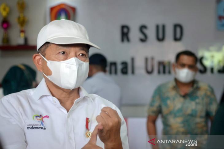 Menteri PPN/Bappenas kunjungi RSUD Zainal Umar Sidiki Gorontalo Utara