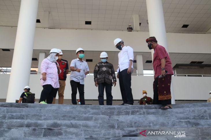 Dirjen Dikti pantau pembangunan Laboratorium Kesehatan Undiksha