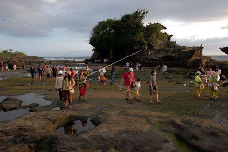 Wisatawan mulai ramai di obyek wisata