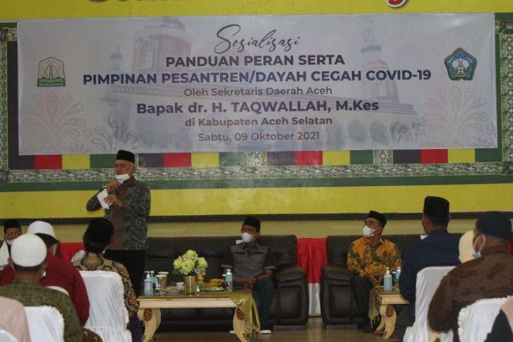 MPU Aceh Selatan sebut vaksin COVID-19 suci dan halal