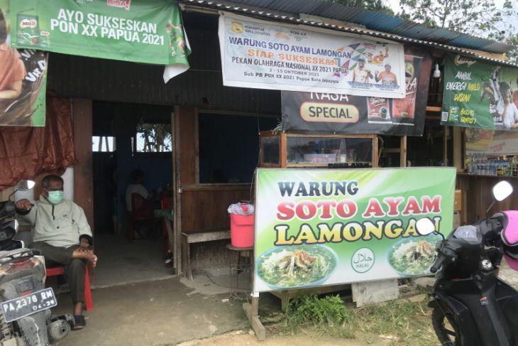 Menyantap soto ayam Lamongan di jalur perbatasan Jayapura-PNG