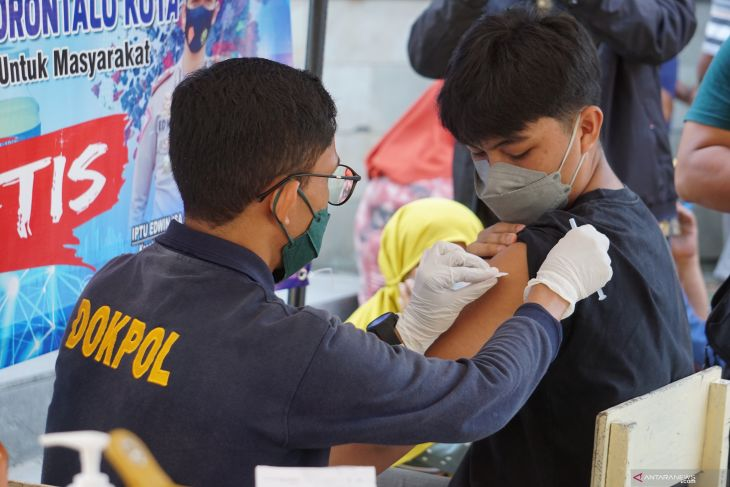 BPOM : Angka kasus positif COVID-19 di Gorontalo turun drastis