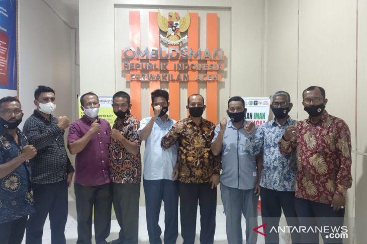 Sejumlah keuchik laporkan BPN Aceh dan Abdya ke Ombudsman soal lahan eks HGU PT CA