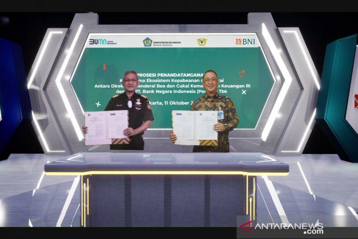 Bea Cukai dan BNI jalin kerja sama NLE untuk permudah layanan logistik