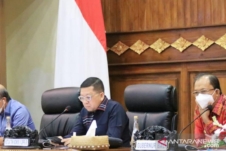 Gubernur Koster minta Komisi II DPR perjuangkan RUU Bali pada 2022