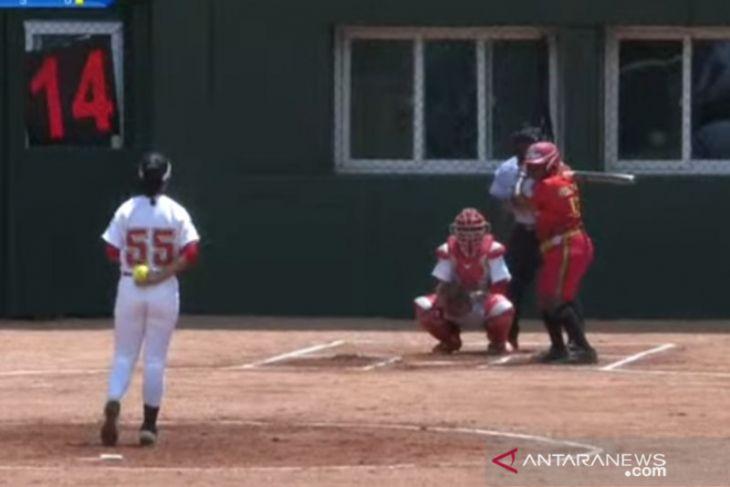 Softball putri Papua Barat lolos ke empat besar PON XX Papua