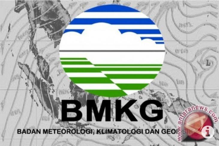 BMKG ingatkan beberapa wilayah berpotensi  alami hujan lebat