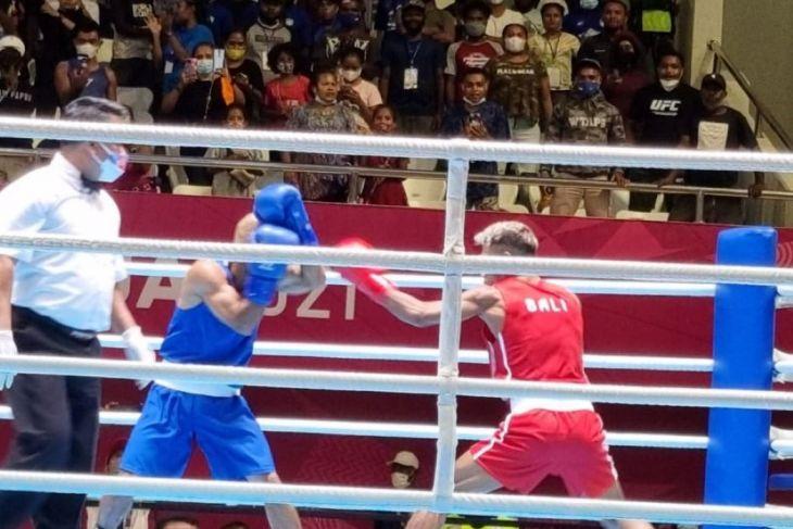 PON Papua - Tiga petinju Bali maju ke final PON XX