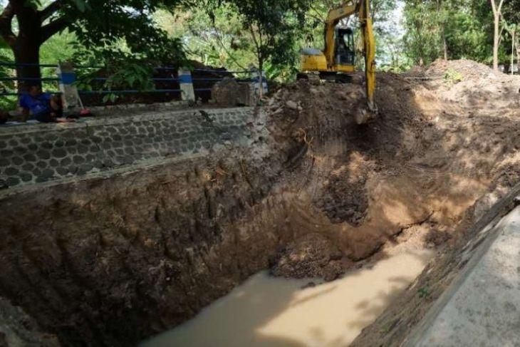 BPCB Jatim ekskavasi sumber air Sendang Kuncen di Kota Madiun