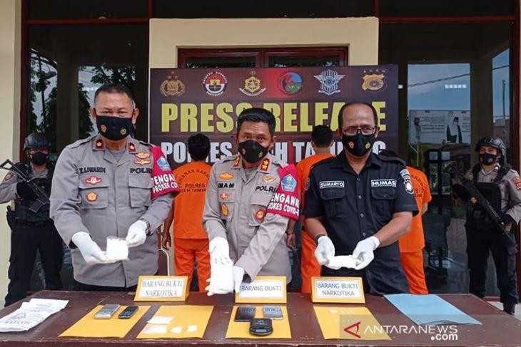 Polisi tangkap pengedar sabu-sabu