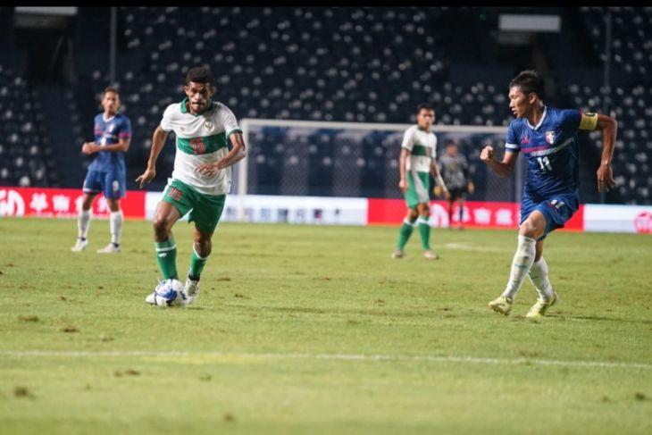 Indonesia tekuk Taiwan 3-0 play off kualifikasi Piala Asia