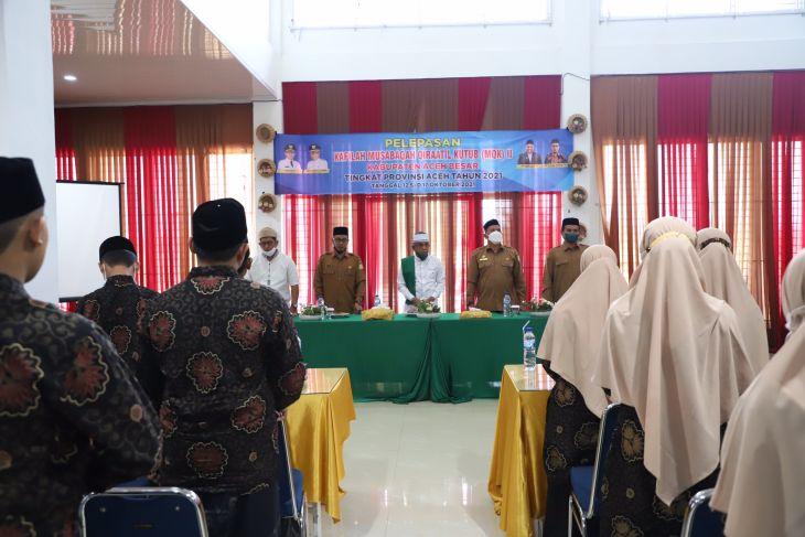 Aceh Besar Kirim 20 Santri Ikuti Musabaqah Qiraatil Kutub 2021